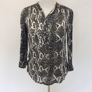 Tops - Snake Printed Blouse